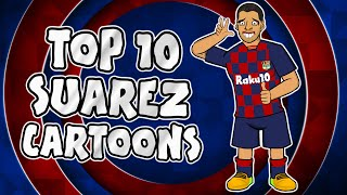🦷🦷Luis Suarez - Top 10 Cartoons🦷🦷