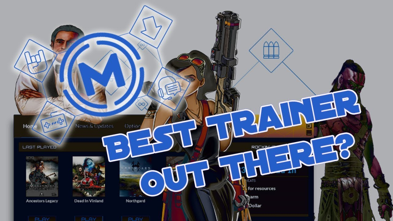 Mega Trainer Ultimate - Best Trainer Out There? Shortcut to God Like Gaming!