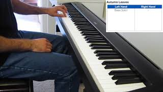 Autumn Leaves - Jazz Piano Cover