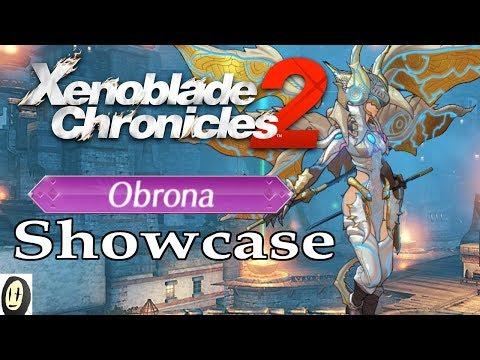 Xenoblade Chronicles 2 - Obrona Showcase (New Game+ Blade)