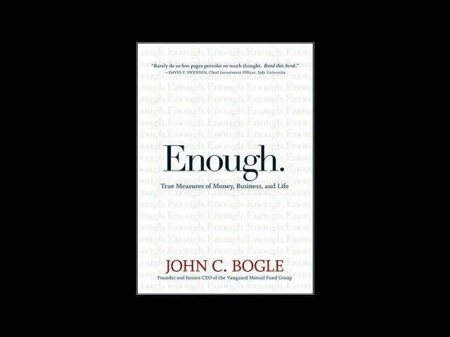Enough by John Bogle Audiobook