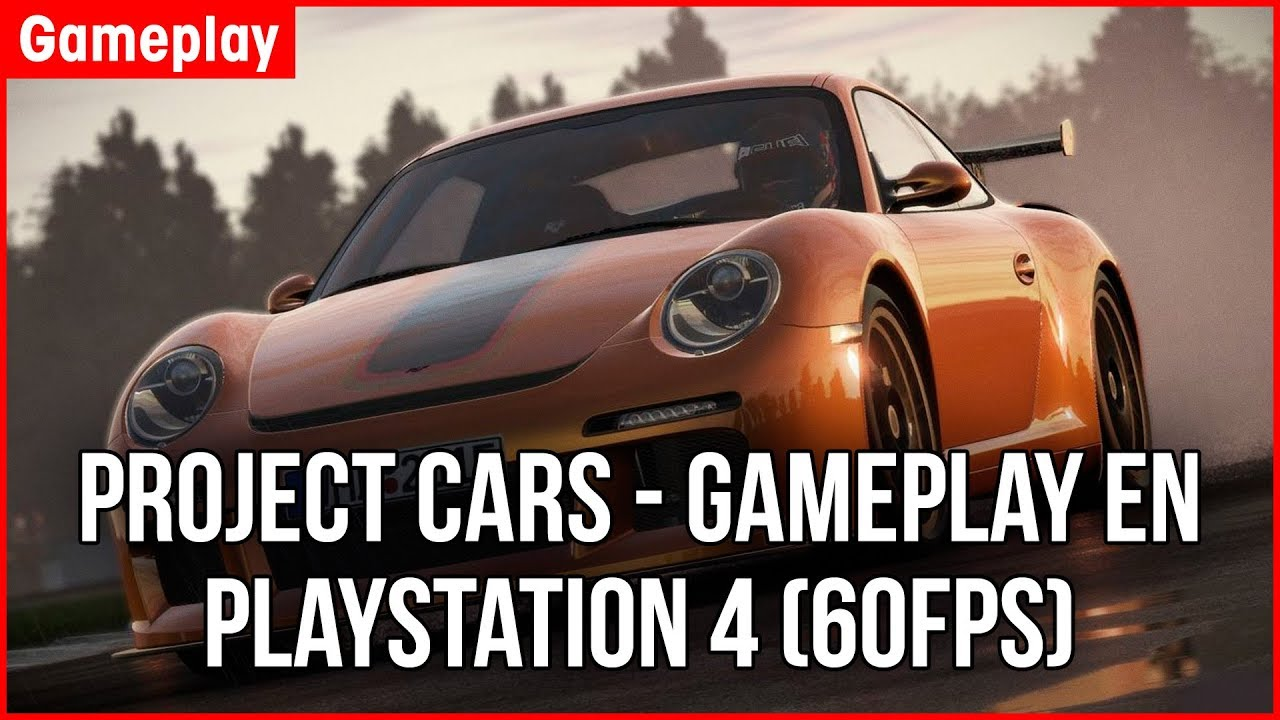 project cars gameplay en playstation 4 60fps youtube. Black Bedroom Furniture Sets. Home Design Ideas