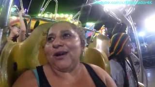 A Gladis La Sirenita casi le da un infarto en las ruedas de la Feria de San Salvador thumbnail
