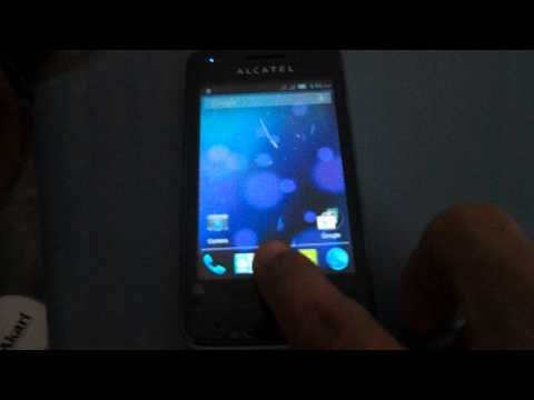 Alcatel One touch S'Pop Soft key LED