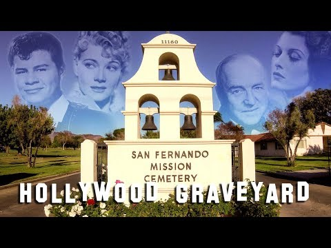 FAMOUS GRAVE TOUR - San Fernando Mission (Bob Hope, Ritchie