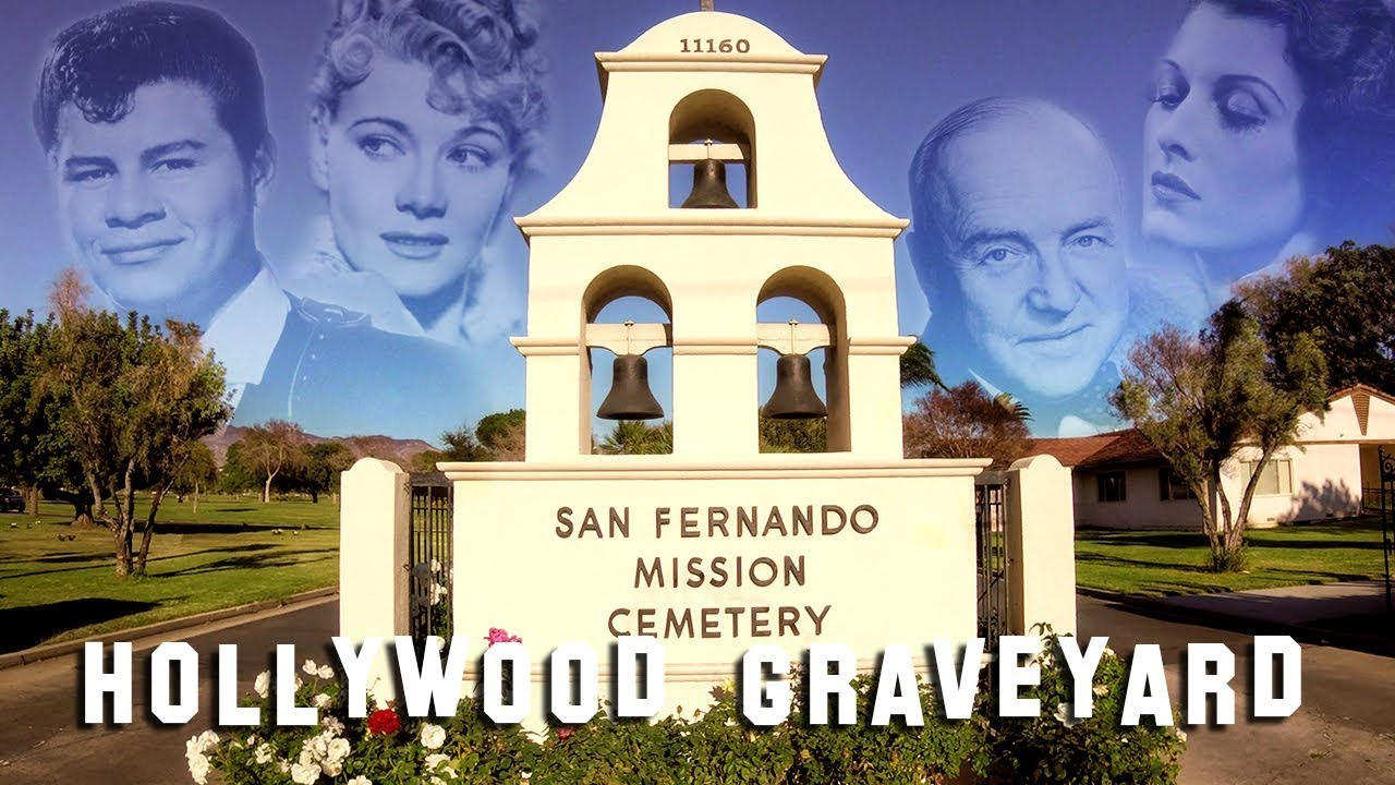FAMOUS GRAVE TOUR - San Fernando Mission (Bob Hope, Ritchie Valens, etc.) by: Hollywood Graveyard
