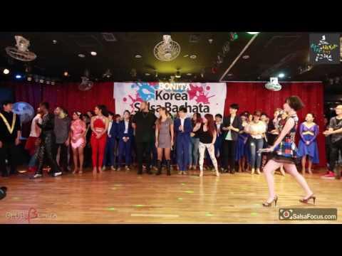 performer salsa 2017 Korea salsa & Bachata congress Farewell Party@Bonita