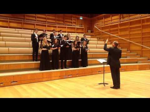 University Chamber Choir: Sleep, Holy Babe