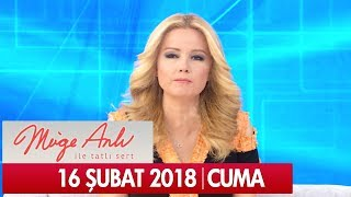 Müge Anlı ile Tatlı Sert 16 Şubat 2018 - Tek Parça