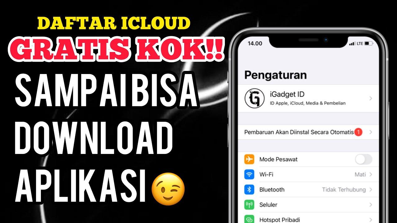 Cara mudah buat ID apple / iCloud di iphone! Gratis!! - YouTube