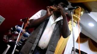 Chinna chinna asai flute instrumental - Vinoth Kumar S