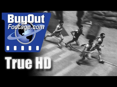 Runner Chuck Fenske Repeats His Recent Triumph, 1940 HD Historic Stock Footage