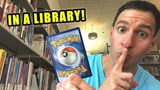*RARE CARDS PULLED IN LIBRARY!* Opening Pokemon Cards UNBROKEN BONDS Packs!