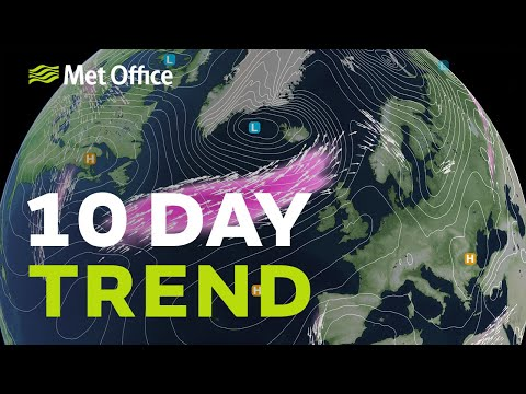 10 Day Trend – Strong Signs Of Drier Weather, But Not Just Yet 11/03/20