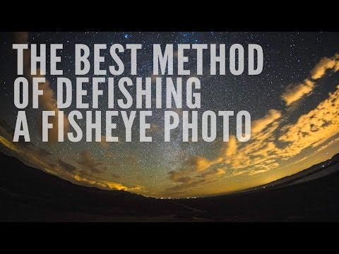 The Best Method of Defishing a Fisheye Photo
