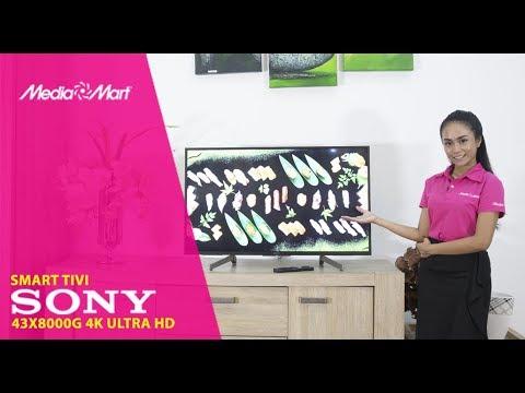 Smart Tivi Sony 4K 43 inch 43X8000G – Giá tốt, chất lượng tốt