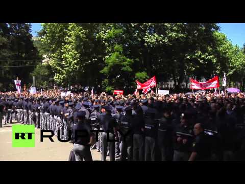 Georgia: Homophobic violence ensues in Tbilisi