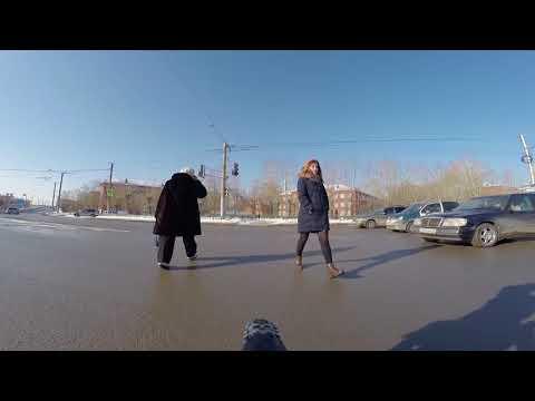 Кордный - Чкаловск. Schwalbe Ice Spiker Pro г.Омск Город глазами велосипедиста #98