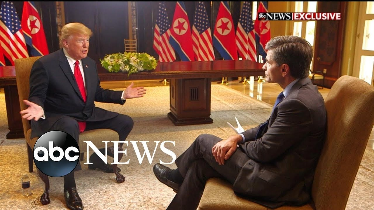 Image result for photos of George Stephanopoulos trump