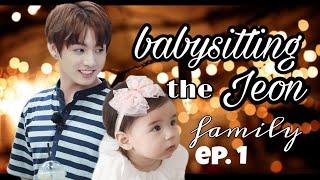 Jungkook FF|Babysitting The Jeon Kids| Episode 1