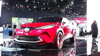 Scion C-HR Concept - 2015 LA Auto Show