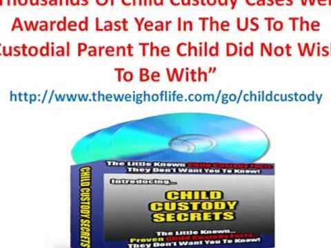 Child Custody Secrets - Mothers And Fathers Custody Rights