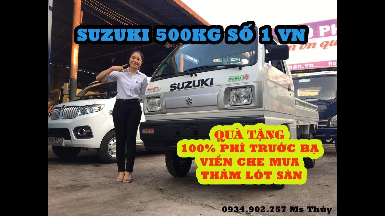 XE TẢI SUZUKI NHẬP KHẨU 500KG|giá xe tải nhẹ 500kg |xe tải suzuki 5 tạ