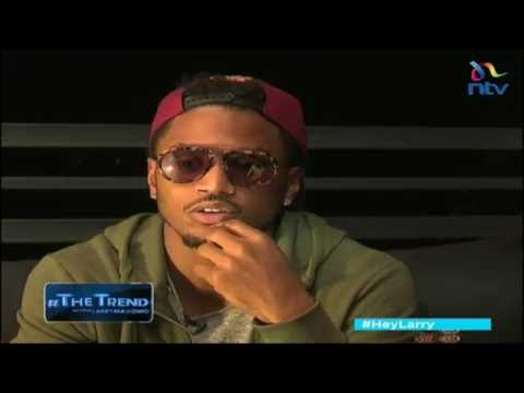 Trey Songz on his music career and African tour #theTrend