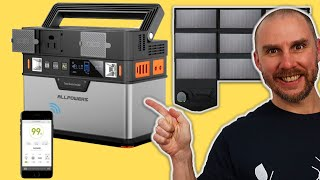ALLPOWERS 372Wh Portable Solar Generator Unbox & Demo   Small & Mighty Solar Storage