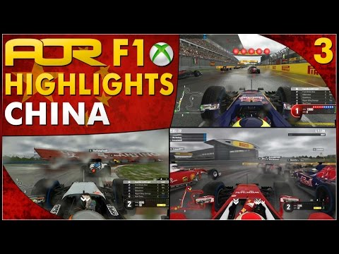 F1 2016 | AOR XB1 F1: S12 Round 3 - Chinese GP (Official Highlights)