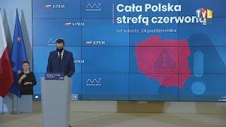 2020.10.23 - CZERWONA STREFA I NOWE OBOSTRZENIA