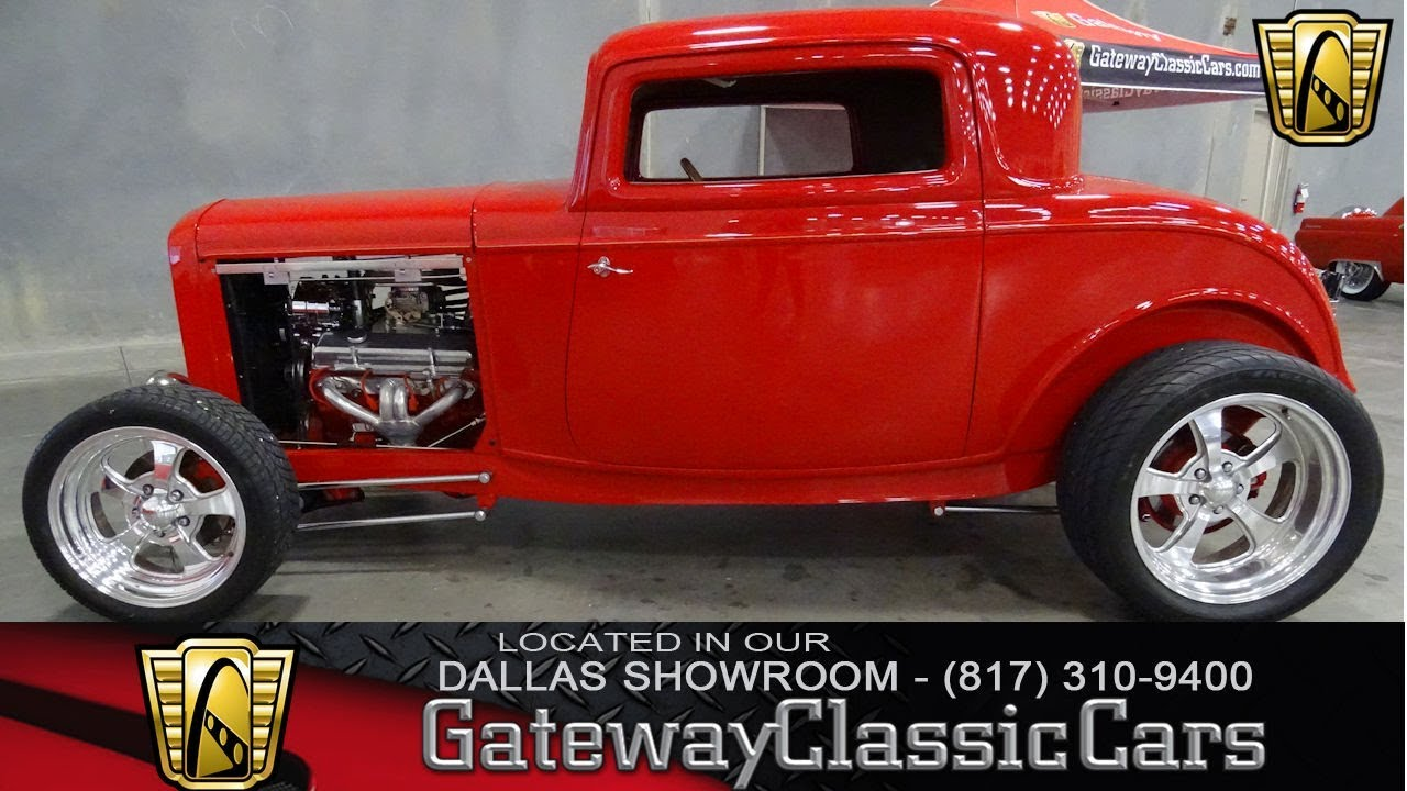 1932 Ford 3 Window Coupe #589-DFW Gateway Classic Cars of Dallas ...