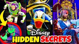Top 10 Hidden Secrets of Walt Disney World Rides  Magic Kingdom