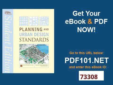 Planning And Urban Design Standards Ebook