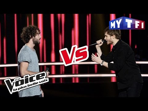 Marius VS Léman - « Sunday Bloody Sunday » (U2) | The Voice France 2017 | Battle