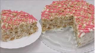 ТОРТ НА ВОДЕ Шикарный пропитанный и недорогой торт Дамские Пальчики