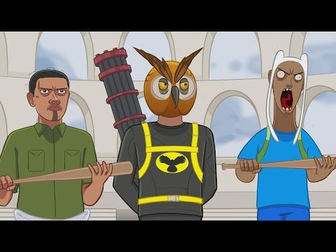 Vanoss Gaming Animated - Gladiators! (From Gmod Sandbox Funny Moments)