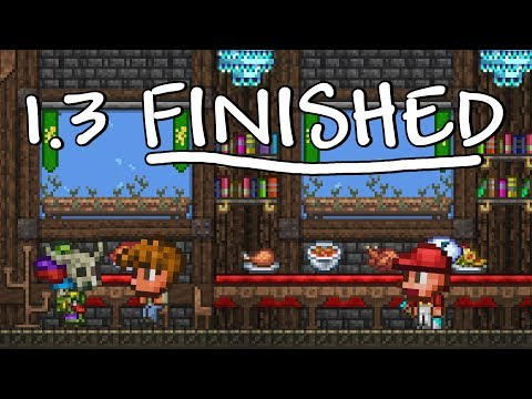 Terraria 1.3 Update - NOW FINISHED! Releasing on PS4 First?
