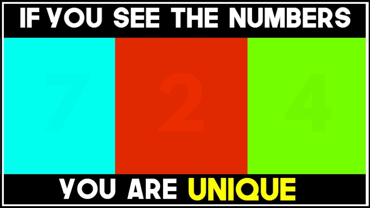 c0c8cf5b0b8 WHAT NUMBER DO YOU SEE  - 98% FAIL