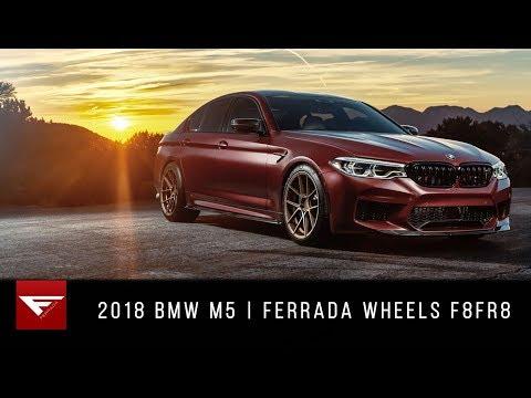 2018 BMW F90 M5   Burnout for Days!   Ferrada Wheels F8FR8