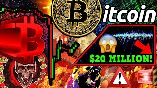 WHY IS BITCOIN STILL DUMPING?! MINERS SELL $20 MILLION BTC!! FUD or $6.5k Target?
