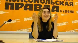 """Актриса """"Женского Квартала"""" Настя Короткая (интервью) 1/2"""