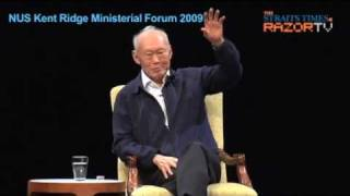 Lee Kuan Yew - Youths dont know what its like to be poor.7.