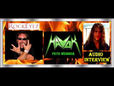Rockeyez  with Peter Webber from Havok