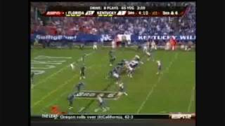 TIM TEBOW GETS HIT: THE MOVIE [TRAILER] (Kentucky vs. Florida 2009)