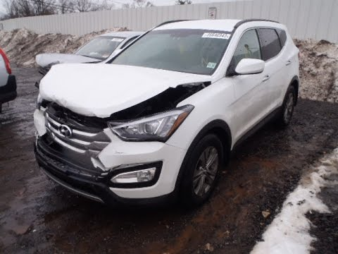2016 Hyundai Santa Fe >> LATEST CAR ACCIDENT OF HYUNDAI SANTA FE - COMPILATION ...