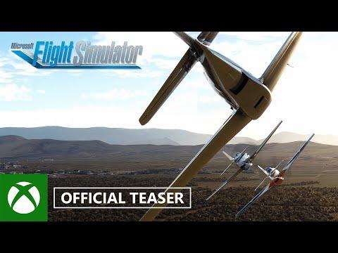 Microsoft Flight Simulator: Reno Air Races Teaser - gamescom 2021