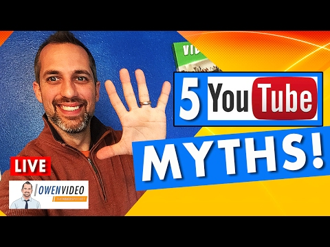 Ranking Videos On YouTube (Top 5 Myths)