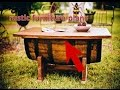 rustic furniture plans