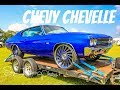 Mean Candy Blue Chevy Chevelle SS on Dub Wheels in HD (must see)